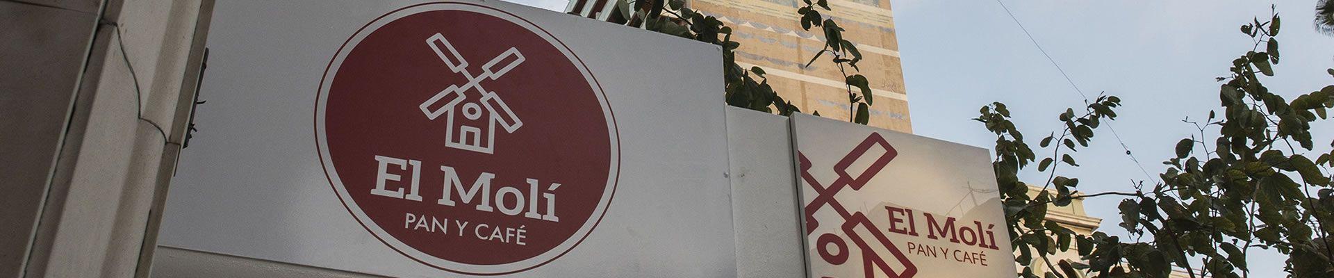Contacto El Moli Pan y Cafe